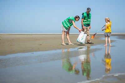 Help mee het strand opruimen!