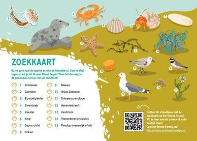 Groene Strand zoekkaart