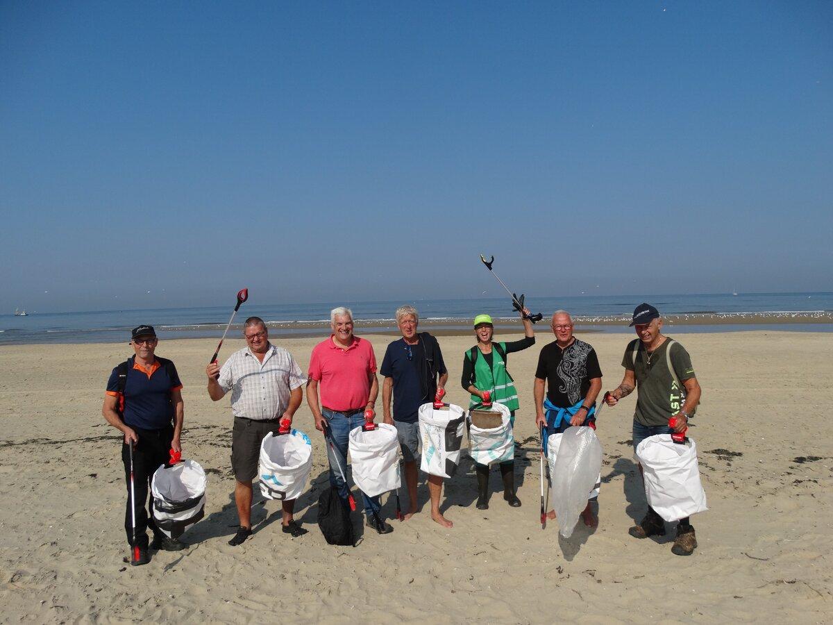 Hoe het strand te Camperduin 'groen' werd....