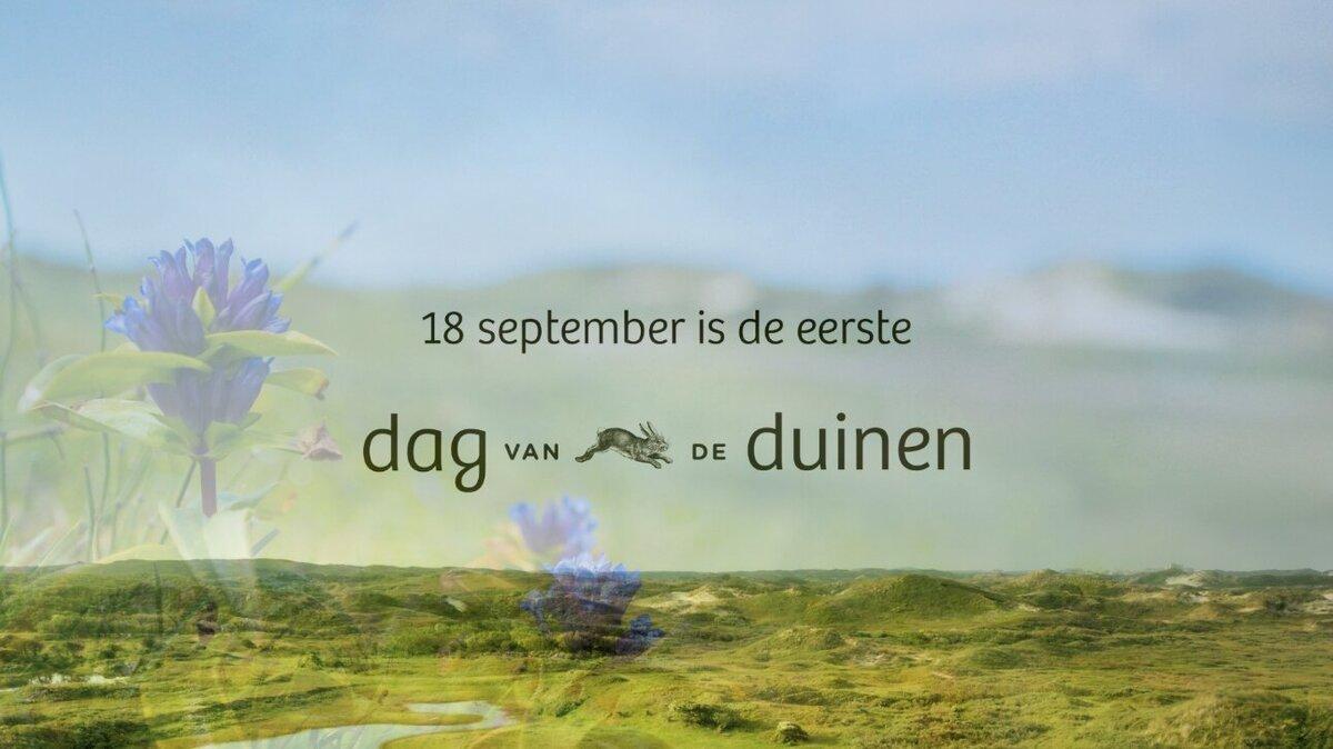 Eerste landelijke Dag van de Duinen op 18 september